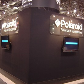Polaroid Larger Custom Trade Show Booth