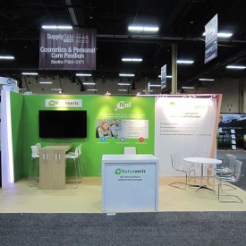Nutraveris 10x20 Custom Trade Show Booth