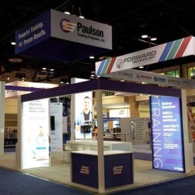 Paulson Larger Custom Trade Show Booth