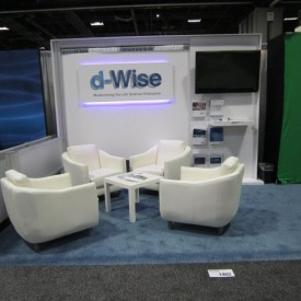 d-Wise 10x10 Custom Trade Show Booth