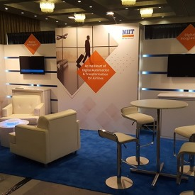 NIIT 10x20 Custom Trade Show Booth