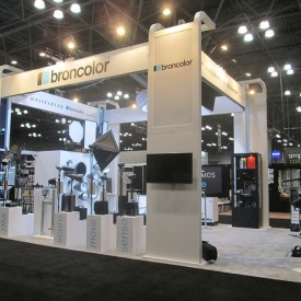 Broncolor Larger Custom Trade Show Booth
