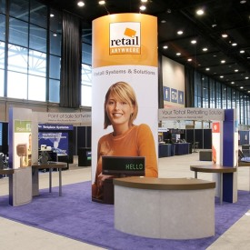 Retail Anywhere 20x20 Custom Trade Show Booth