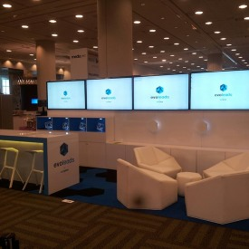 Evoleads 10x20 Custom Trade Show Booth