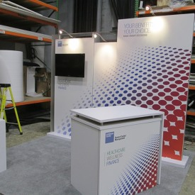 Goldman Sachs 10x10 Custom Trade Show Booth