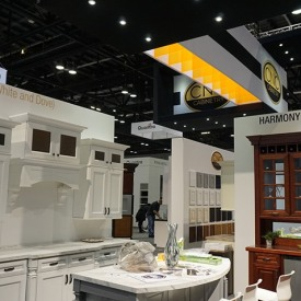 CNC Cabinetry Larger Custom Trade Show Booth