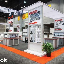 Mate Percision Custom Trade Show Booth