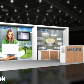 MyBuys 10x20 Custom Trade Show Booth