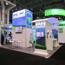 Empower Larger Custom Trade Show Booth