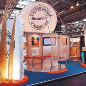 SmartPly 20x20 Custom Trade Show Booth