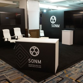 SONM 20x30 Custom Trade Show Booth
