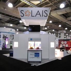 Solais Larger Custom Trade Show Booth