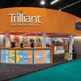 Trilliant Larger Custom Trade Show Booth
