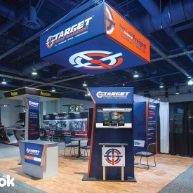 Target Freight 20x20 Custom Trade Show Booth