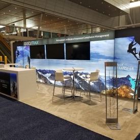 DOCUTRAX 10x30 Custom Trade Show Booth