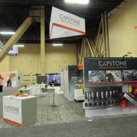Capstone Larger Custom Trade Show Booth