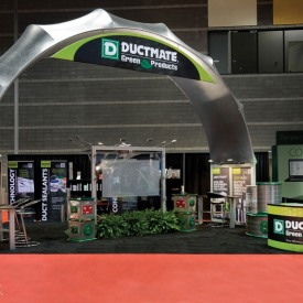 Ductmate Larger Custom Trade Show Booth