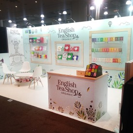 English Tea 10x20 Custom Trade Show Booth