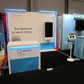 Toushay 10x10 Custom Trade Show Booth
