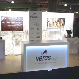 Veras 10x20 Custom Trade Show Booth