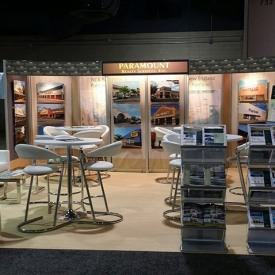 Paramount Realty Services, Inc. 20x20 Custom Trade Show Booth