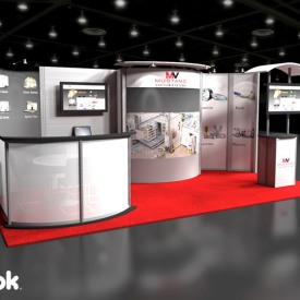 Mustang Vacuum Systems 10x20 Custom Trade Show Booth