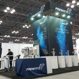 Frewitt Custom Trade Show Booth