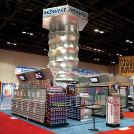 Midwest Larger Custom Trade Show Booth