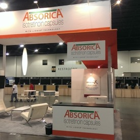 Absorica Larger Custom Trade Show Booth