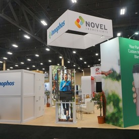 Novel Ingredients/Innophos Custom Trade Show Booth