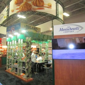 Manischewitz Company Larger Custom Trade Show Booth