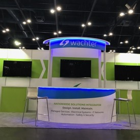 Wachter 10x20 Custom Trade Show Booth