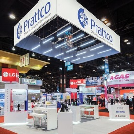Prattco Custom Trade Show Booth