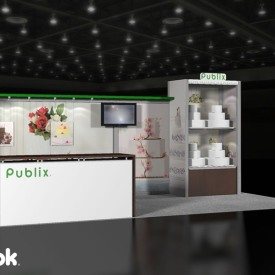 Publix Bakery 10x20 Custom Trade Show Booth