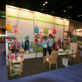 Parsnips 10x20 Custom Trade Show Booth