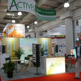 Actives Int'l 20x20 Custom Trade Show Booth