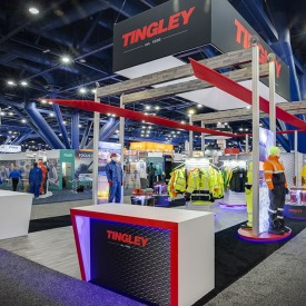 Tingley Custom Trade Show Booth