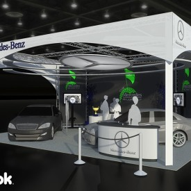 Mercedes-Benz 20x20 Custom Trade Show Booth