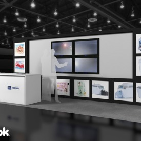 Magcard 10x20 Custom Trade Show Booth