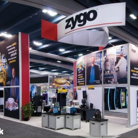 Zygo Larger Custom Trade Show Booth