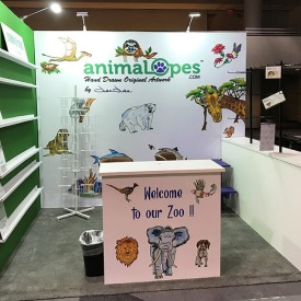 Animalopes 10x10 Custom Trade Show Booth
