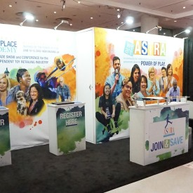 ASTRA 10x20 Custom Trade Show Booth