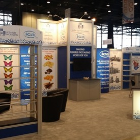 ICA Larger Custom Trade Show Booth