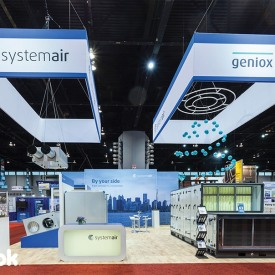 Systemair Custom Trade Show Booth