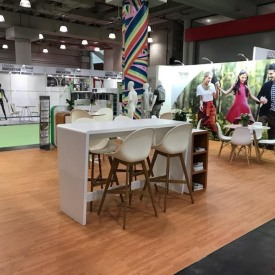 Lenzing 20x30 Custom Trade Show Booth