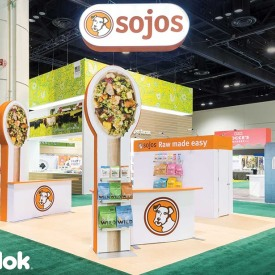 Sojos Custom 20x20 Trade Show Booth