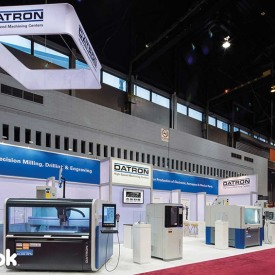 Datron Larger Custom Trade Show Booth