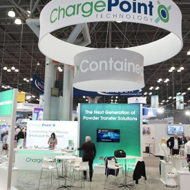 ChargePoint Custom Trade Show Booth