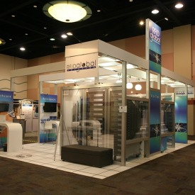 RFID Larger Custom Trade Show Booth