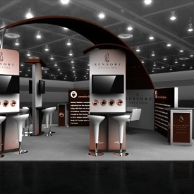 Sensory Solutions 20x20 Custom Trade Show Booth